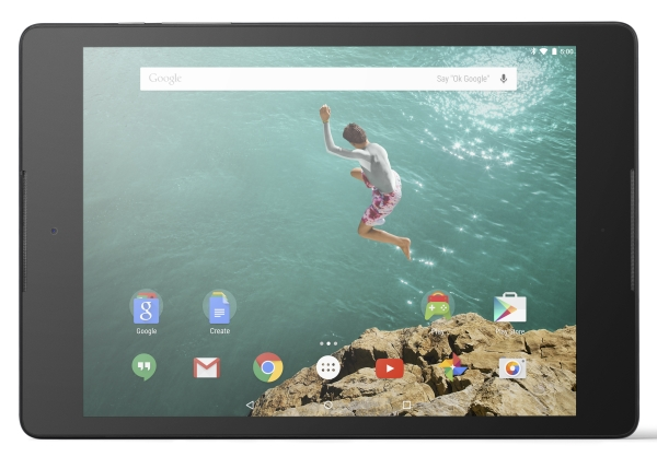 Nexus 9 Horizontal Front Black