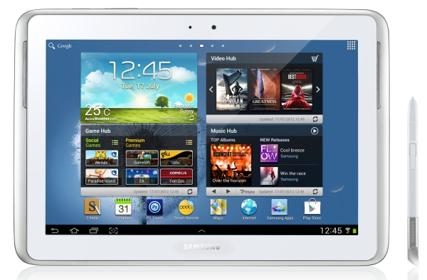 Samsung Galaxy Note 10.1 - test tabletu